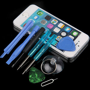 8 in 1 repair tools opening pry screwdriver kit set for iphone 5s 6 6s plus ipod ebay. Black Bedroom Furniture Sets. Home Design Ideas