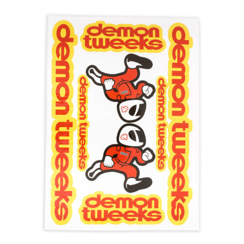 Demon Tweeks Motorsport Sticker Sheet