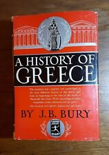 A History of Greece, J.B. Bury, A Modern Library Giant, G35