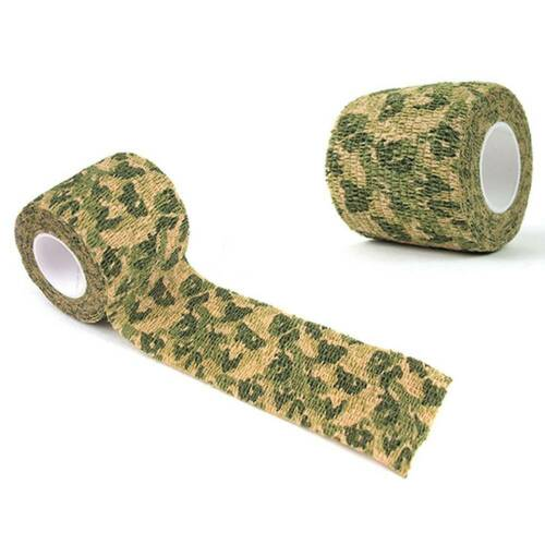 Waterproof Camouflage Tape Hunting Gun Tool Camping Duct Wrap Stretch Bandage