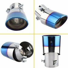 Novel Blue Car Stainless Steel Exhaust Trim Tip Muffler Pipe Replace Auto Parts Fits 1999 Jeep Wrangler