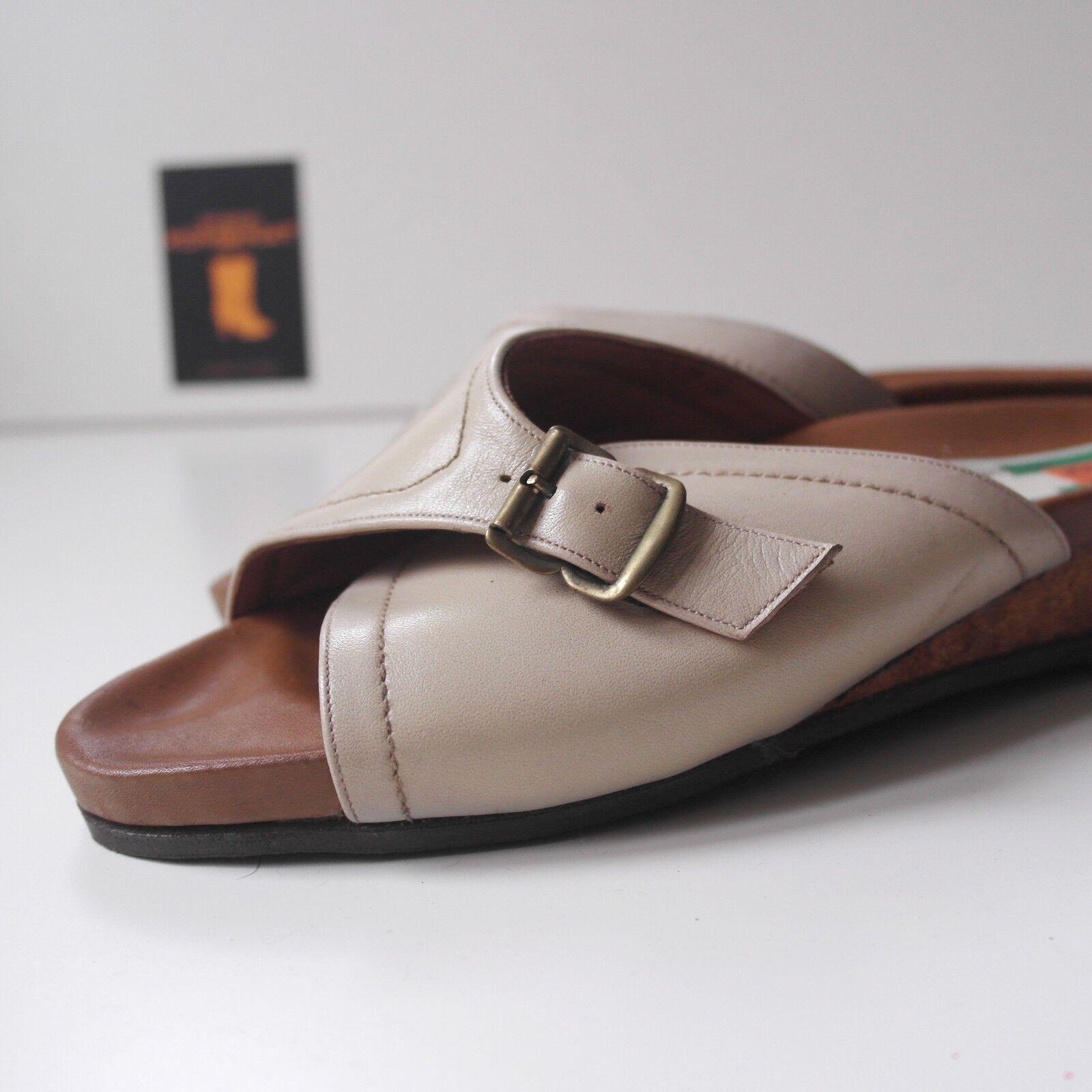 True vintage wörishofer sandalias corcho señora sandalias de cuña zapatos para baño nos