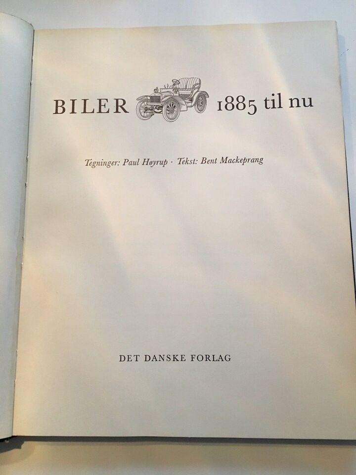 Biler, 1885 til nu, anden bog
