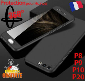 COQUE-HOUSSE-ETUI-TOTAL-360-POUR-HUAWEI-P8-P9-P10-HONOR-PROTECTION-VERRE-TREMPE