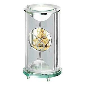 BRAND NEW Seiko Skeleton Mantel Clock QHG035SLH
