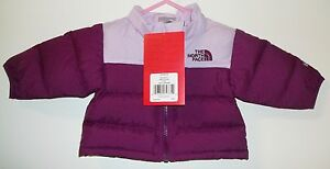 e09e130b05 THE NORTH FACE KIDS INFANT BABY THROWBACK NUPTSE DOWN JACKET NEW sz ...