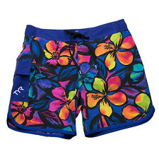 New TYR Men's SOLA FLORAL Boardshorts / Swim Trunks - Style BPSO5A - LARGE