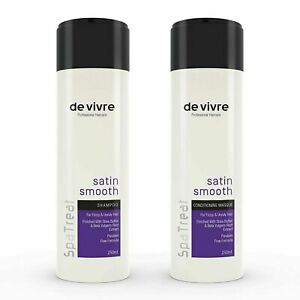Vivre Satin Smooth Shampoo & Conditioner Combo For Dry and Frizzy Hair 250ml