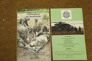 BW Sanitäter Bundeswehr Handbuch Erste Hilfe , Taschenkarte   eBay   {Sanitäter bundeswehr 58}
