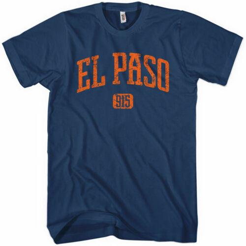 EL PASO T-shirt Texas El Chuco XS-4XL Area Code 915