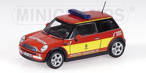New Mini One Pompiers Muenchen 2001 1 43 Model MINICHAMPS