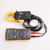 Fluke 101 Handheld Multimeter Meter + Temp Probe Ac Transducer Tester Ms3302