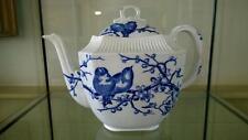 Enchanting George Jones 'Almond' Bird Pattern Tea Pot C 1881
