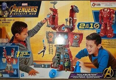 "Marvel Avengers Infinity War 33/"" Hulkbuster Ultimate Figure HQ Playset Toy"