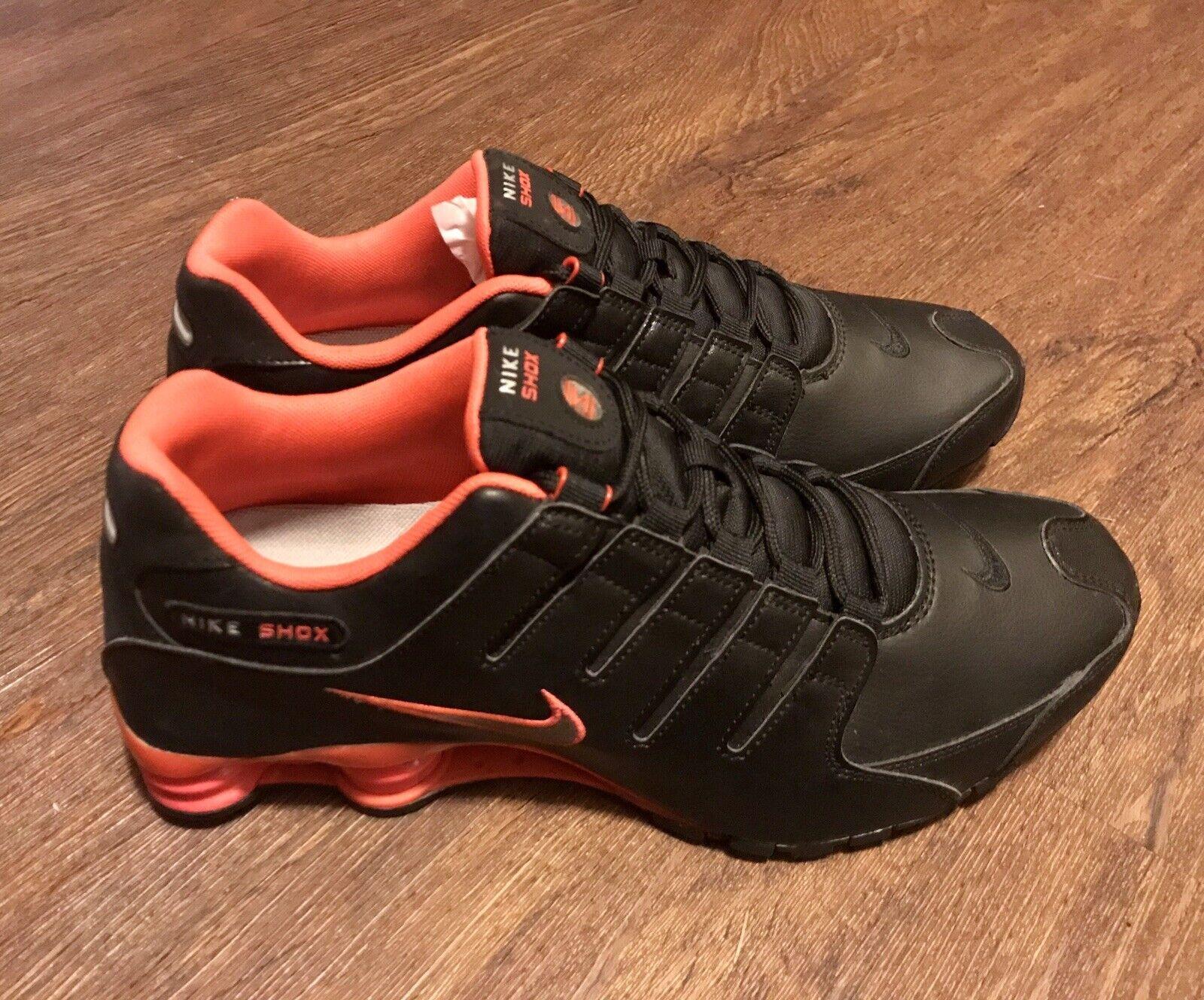 online retailer 302f1 334d4 NEW Nike Shox Shox Shox NZ Black Running shoes Men s Size 13 Classic Rare  shoes 378341