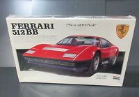 Rare Sealed Vtg Arii Ferrari 512 Bb Japanese Plastic Model Kit 1/24 A591-800