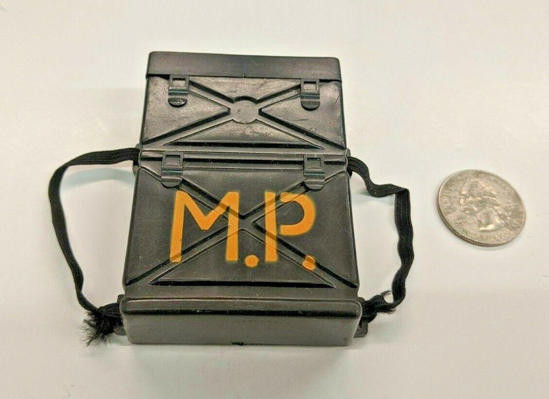 GI Joe 12  Military Police MP Backpack Radio Toy Accessory 1964 Great Vintage