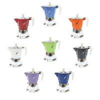 Espressokocher , top Moka Deckel Silber Farbe 3 Tassen