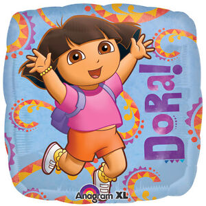 Details About Dora The Explorer 18 Balloon Mylar Foil Party Decorations Gifts Usa Seller