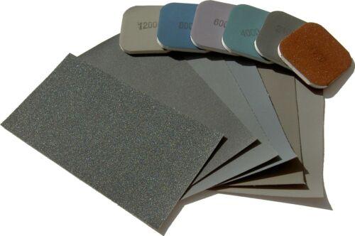 Schleifleinen Pads CHOOSE TYPE//QUANTITY 150-12000 Micro-Mesh abrasive  sheets