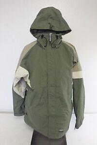 Twist-Olive-Green-Women-039-s-Snowboarding-Jacket-w-Gen-Tech-Fabric-System-Size-L