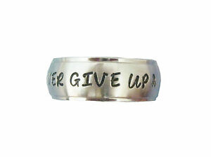 Personalized-8mm-Stainless-Steel-Inspirational-Ring-FREE-ENGRAVING