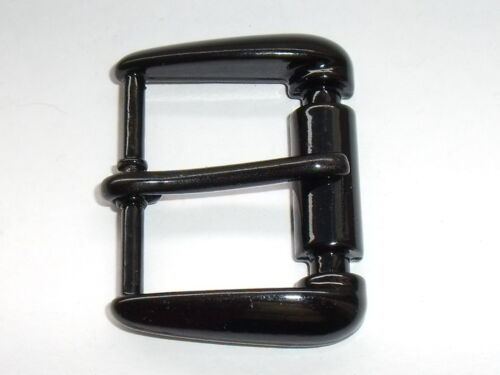 Cintura fibbia fibbia fibbia chiusura 3 cm nero NUOVO ROSTFREI #872#