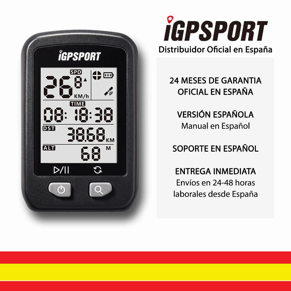 IGPSPORT iGS20E GPS Ciclo computador Cuentakilometros Bicicleta Ciclismo España