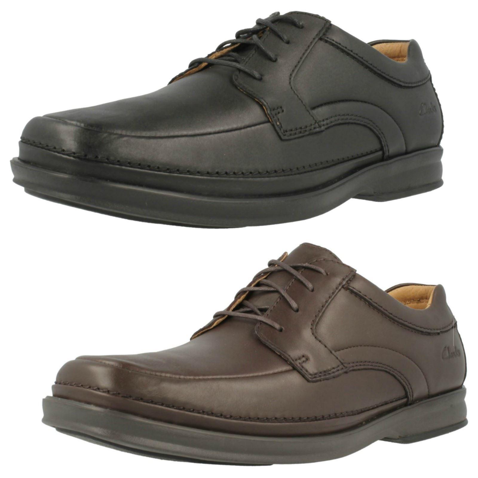 Para Hombre Clarks Zapatos Con Cordones Inteligente-Scopic Manera