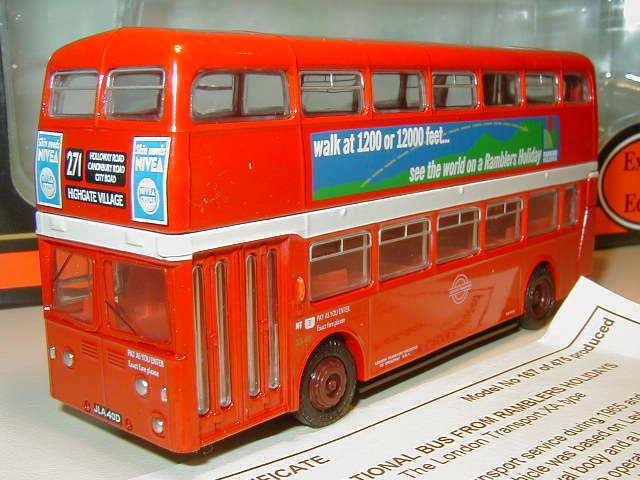 EFE 18108B - 1 76 Leyland Atlantean Park Royal XA, Ramblers Holidays