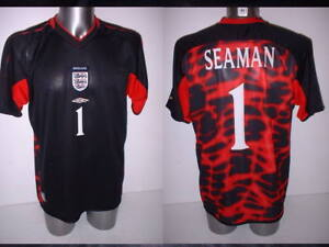 a1588bdef91 Image is loading England-Shirt-Jersey-Large-Seaman-Umbro-Football-Soccer-