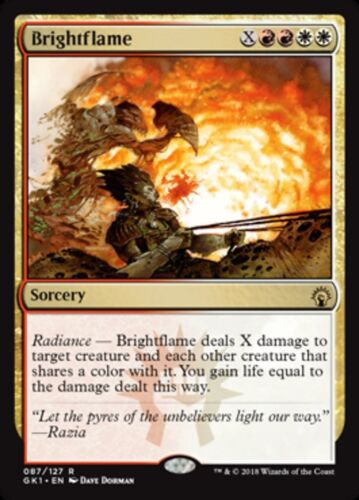MTG Brightflame English, Guild Kits, Free P/&P