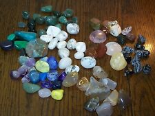 2 pounds semi precious polished stones crystals rocks for Jewelry Cabachons