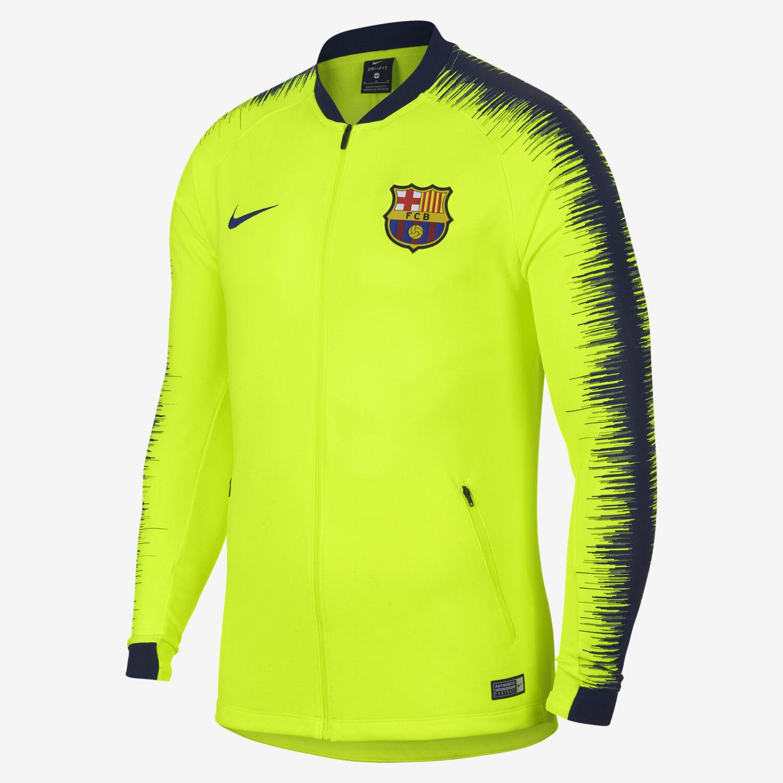 Nike Fcb Barcellona Anthem da da da hombres Calcio Giacca Volt 894361 705 Taglia M Nwt 885e48