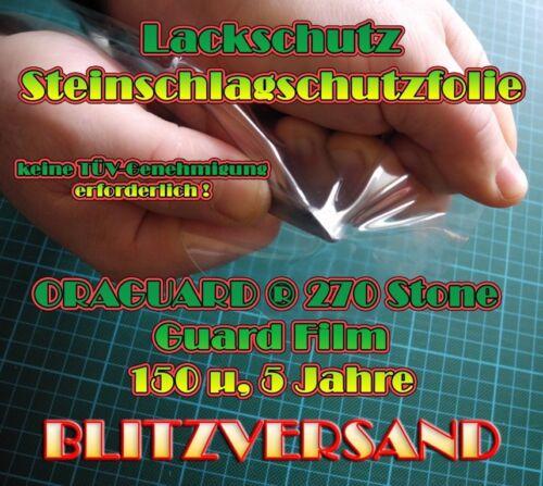 Chutes De Pierres Film Protection Lackschutz Film Oraguard ® 270 Stone Guard Film 1000x800
