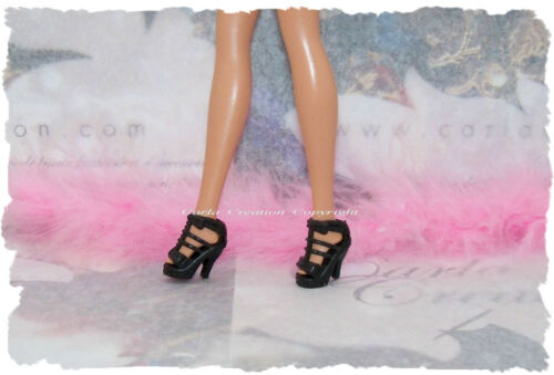 Fashion doll barbie shoe mannequin dress princess fashion wedge strap