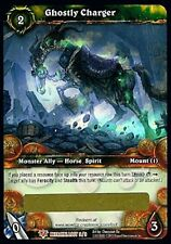 WORLD OF WARCRAFT WOW TCG : GHOSTLY CHARGER LOOT CARD