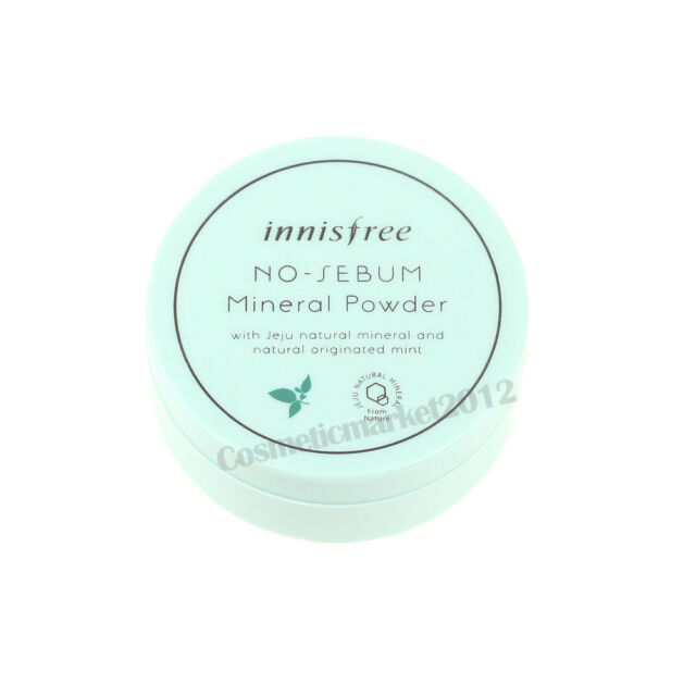 Innisfree No Sebum Mineral Powder 5g Free gifts