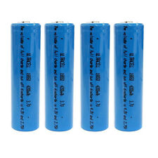 4 pcs 18650 4200mAh 3.7V Li-ion Rechargeable battery UltraCell Blue US Stock