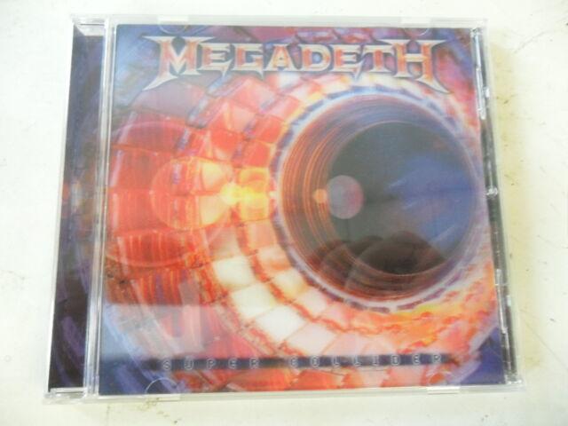 Megadeth - Super Collider - Limited CD with 3D - Covercard + 2 Bonustracks