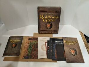 Baldur-039-s-Gate-1998-Interplay-Role-Playing-Big-Box-PC-COMPLETE
