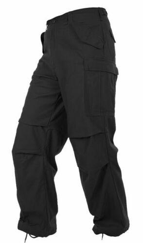 Teesar M65 Trousers Tactical Combats Uniform Work Cargo Pants Security Black
