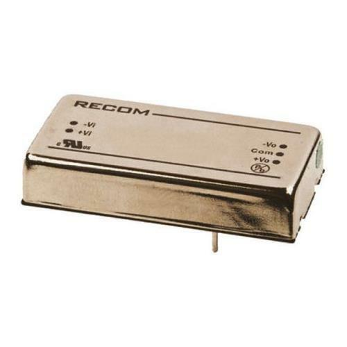 1 x Recom Isolated DC-DC Converter RP15-4812DF, Vin 36-75V dc, Vout ±12V dc