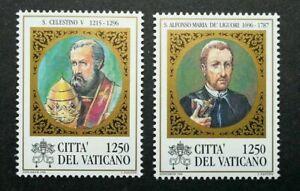 [SJ] Vatican Pope Cölestin V 1996 (stamp) MNH