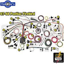 american autowire wiring system firebird 1967 68 kit p n 500886 ebay rh ebay com gibson firebird wiring harness 1968 firebird wiring harness