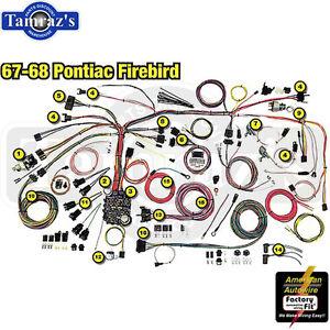 s l300 67 68 firebird classic update series complete body & interior wiring