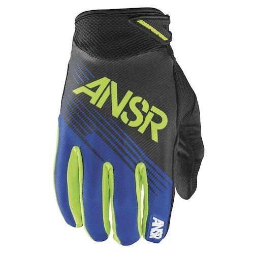 NEW Answer Racing A15 Syncron Blue Green Gloves motocross atv off road Kawasaki