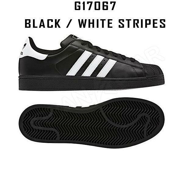 huge discount b672b c5464 adidas Superstar 2 Trainers Leather Black White Mens Sports Fashion G17067  UK 10 for sale online   eBay