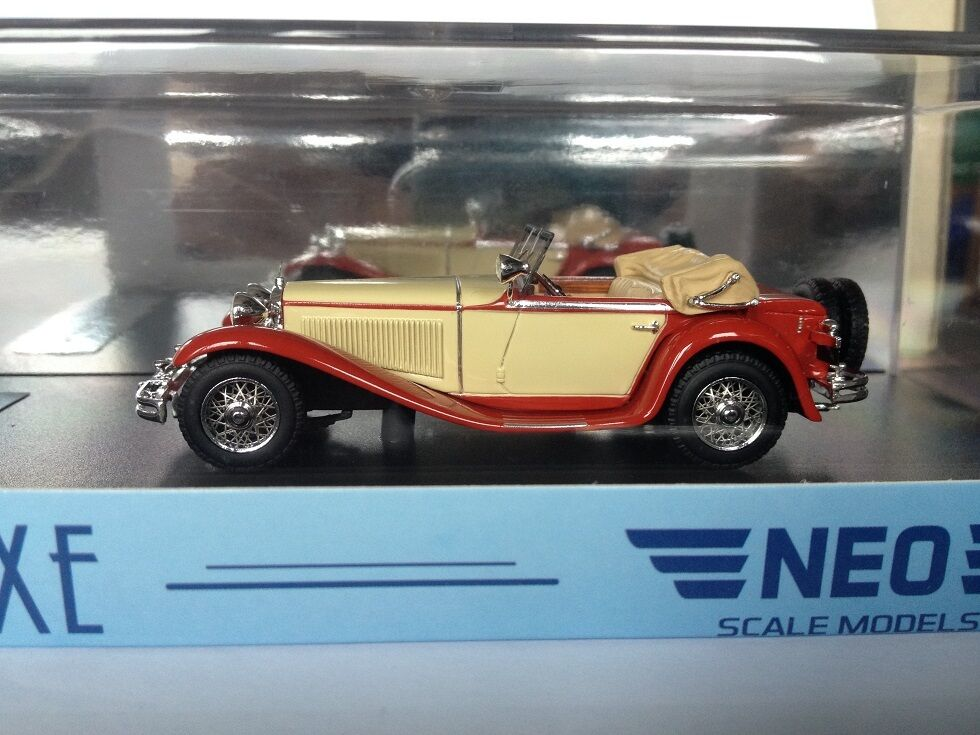 1 43 43 43 NEO Mercedes Benz Mannheim 350 S 1932 NEO43215 84fc4b