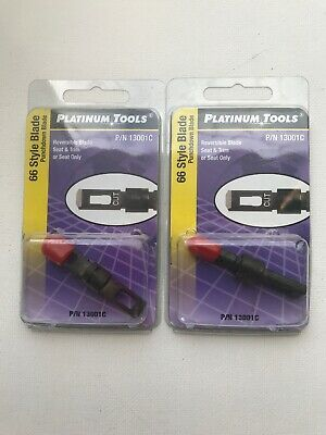 Platinum Tools 13159C PRO-Strike Punchdown Tool Clamshell packaging with Combo Blade